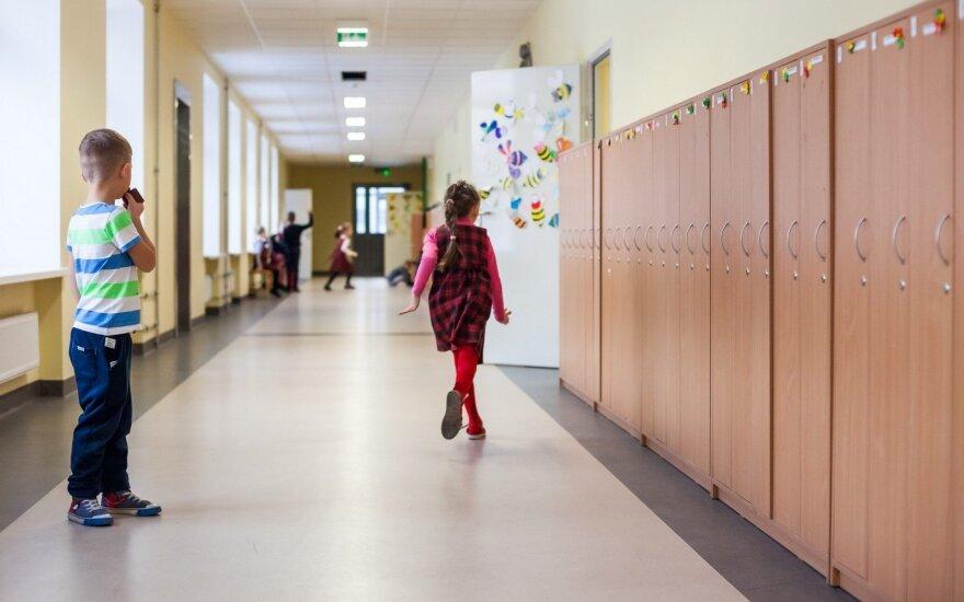 Modernizuojamos mokyklos Vilniuje
