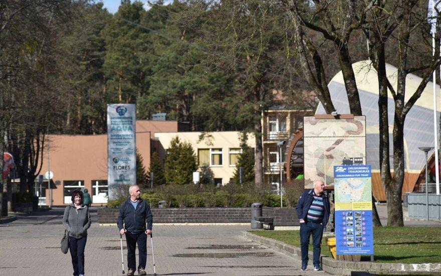 Druskininkuose ketinama rekonstruoti pagrindinę pėsčiųjų arteriją – Vilniaus alėją