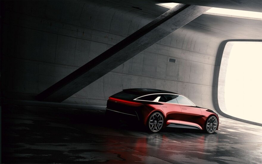"""Kia"" koncepcinis modelis bus parodytas Frankfurte"