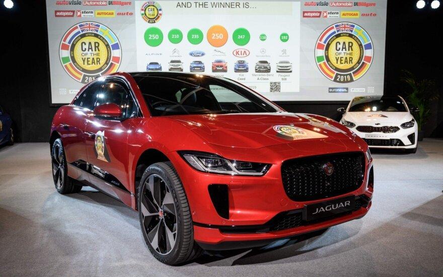 """Jaguar I-Pace"" tapo Europos metų automobiliu 2019"
