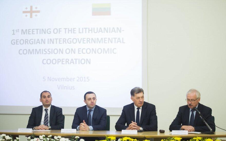 Pirmajame Gruzijos–Lietuvos tarpvyriausybinio ekonominio bendradarbiavimo komisijos posėdyje – šalių įsipareigojimai ir galimybės