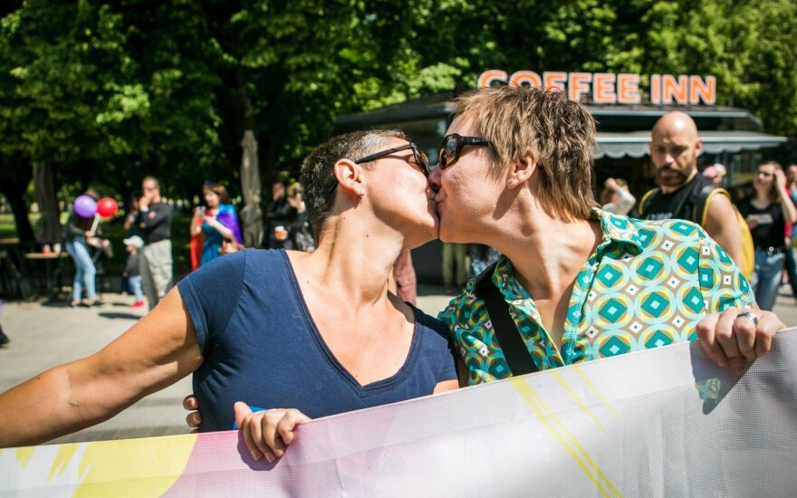 Baltic Pride march in Vilnius