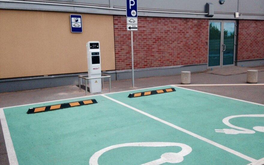 Elektromobilių įkrovimo vieta