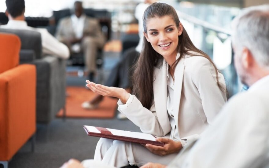 Darbas, moteris, pokalbis, biuras, dalykinis, karjera,