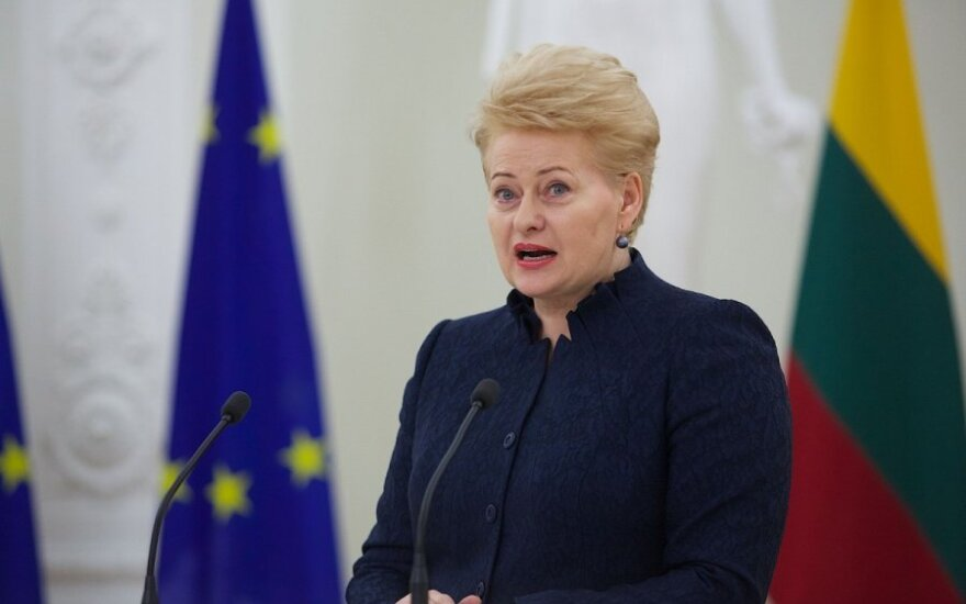 President Grybauskaitė: Lithuania shall review its energy strategy