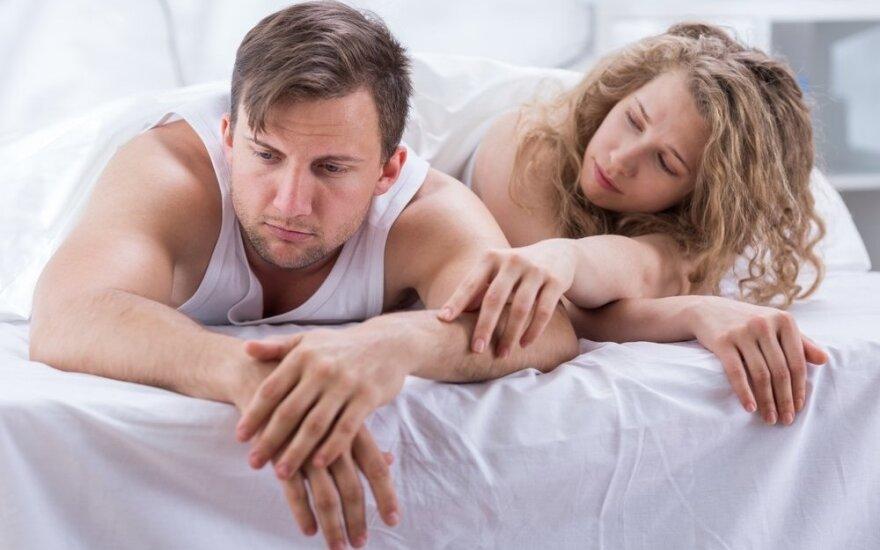 Prigesusios aistros miegamajame: kodėl jis nenori mylėtis?