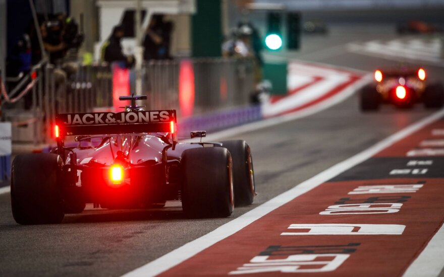 """2019 """"Formulės-1"""" etapas Bahreine"""