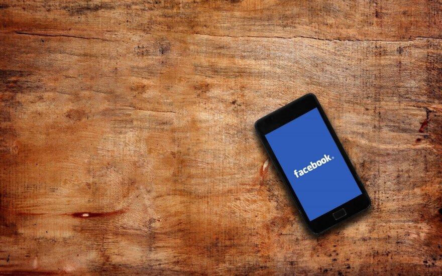 """""""Facebook"""" JK sukurs 800 naujų darbo vietų"""