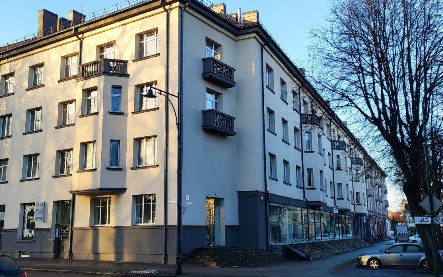 Renovuotas daugiabutis Klaipėdoje, Lietuvininkų g. 4