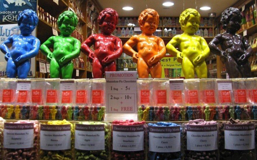 Šokoladinis Briuselio simbolis