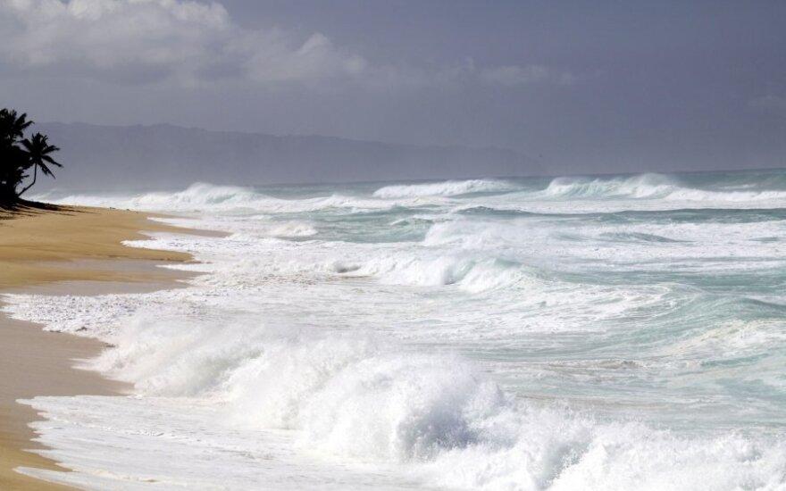 Kanoja grįžo į Havajus po įspūdingos kelionės aplink pasaulį