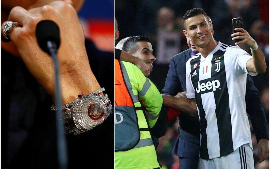Cristiano Ronaldo laikrodis, Cristiano Ronaldo asmenukė su gerbėju