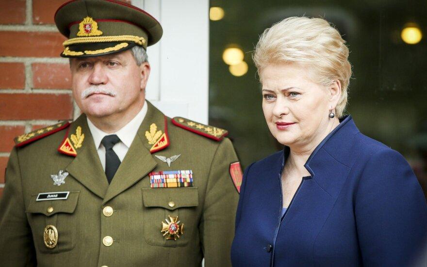 Vytautas Jonas Žukas ir Dalia Grybauskaitė
