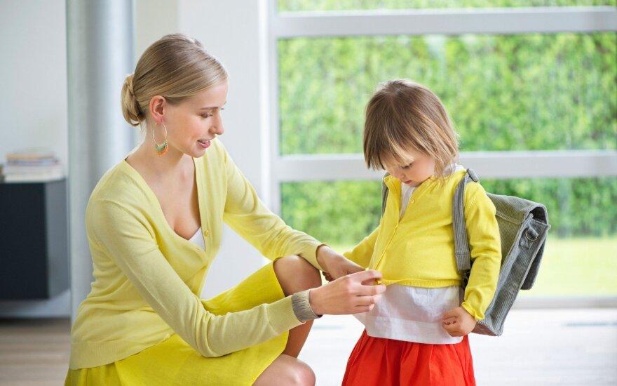 Psichologė patarė, ką turėtų žinoti būsimų darželinukų tėvai