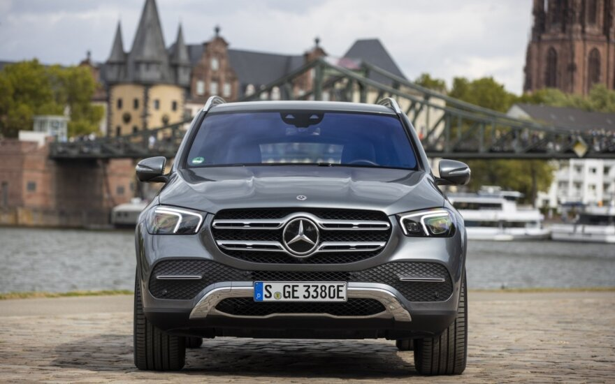 """Mercedes-Benz GLE 350 de 4MATIC """