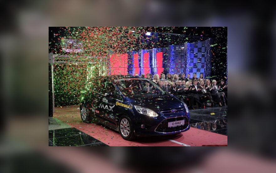 "Ford C-Max - ""Metų automobilis 2011"""