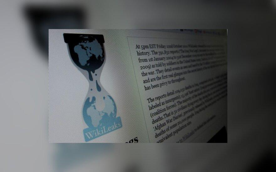 """""""Amazon"""" atsisakė savo serveriuose talpinti """"WikiLeaks"""" failus"""