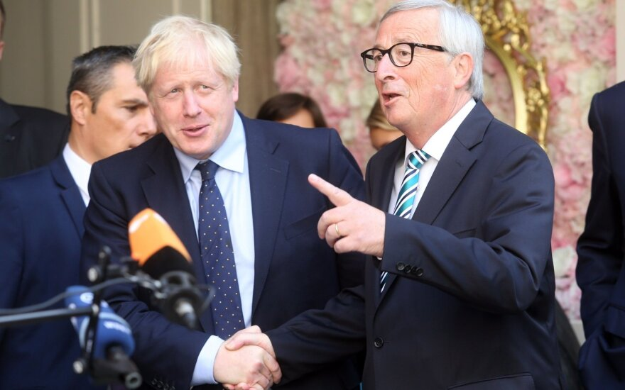 Borisas Johnsonas, Jeanas-Claude'as Junckeris