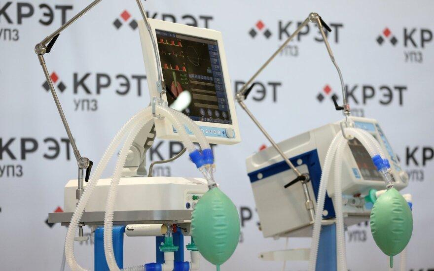 Sostinės savivaldybė sieks atgauti pinigus už nepristatytus plaučių ventiliavimo aparatus