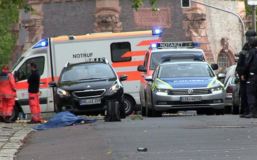 Po šaudynių Vokietijoje gavo naujausių žinių: vienas iš teroristų pakliuvo į avariją