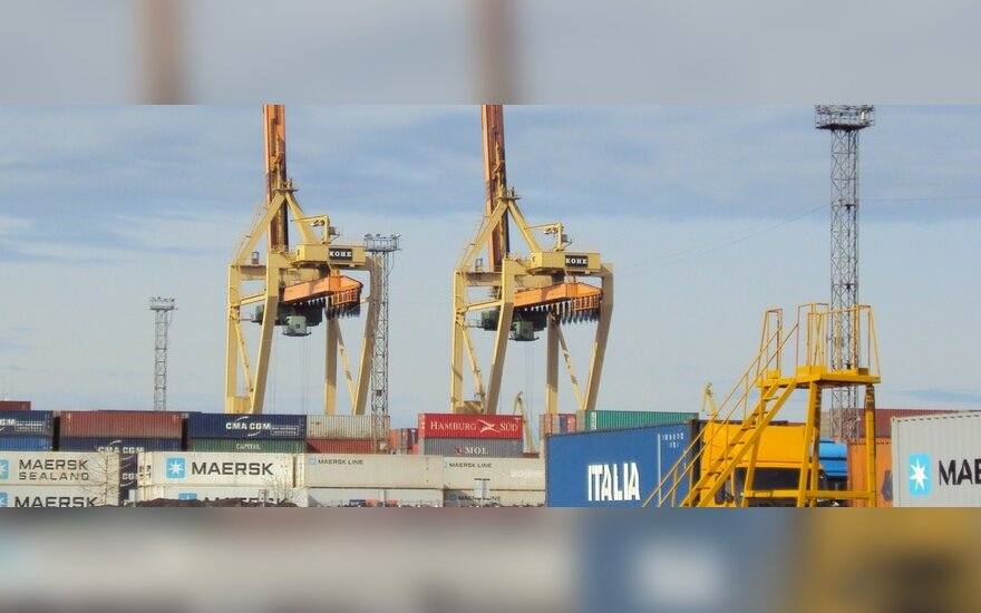 Rygos jūrų uostas, konteinerių terminalas