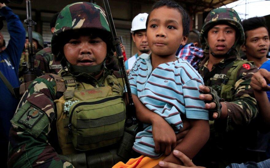 Filipinų saugumo pajėgos Maravyje nukovė 89 islamistų kovotojus