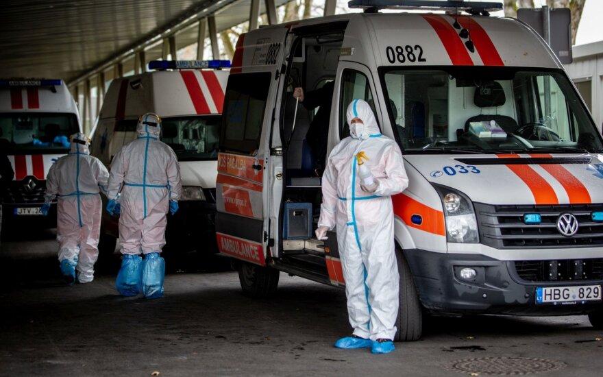 Šalyje per parą nustatytas 61 naujas koronaviruso atvejis, mirė 3 asmenys