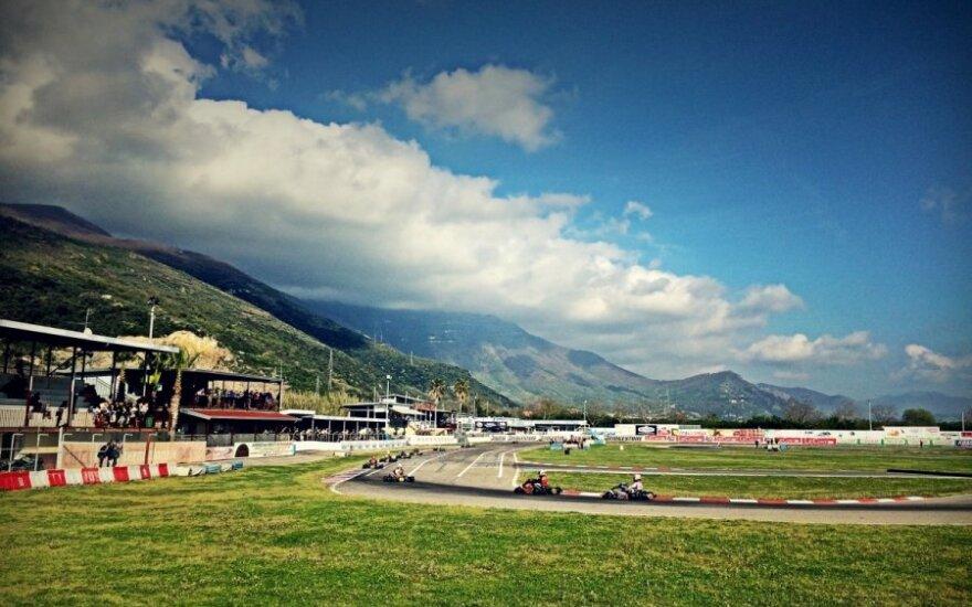 Italijos Sarno lenktynių trasa