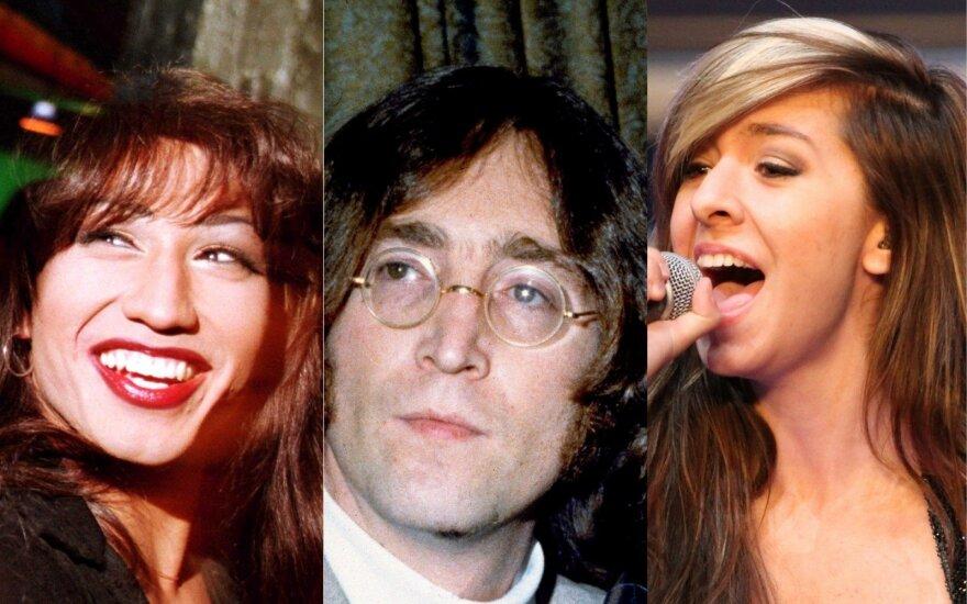 Selena Quintanilla-Pérez, Johnas Lennonas, Christina Grimmie