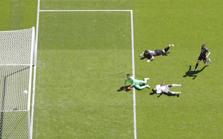 Euro 2020: anglai švaistė progas, bet vis tiek įveikė pasaulio vicečempionus