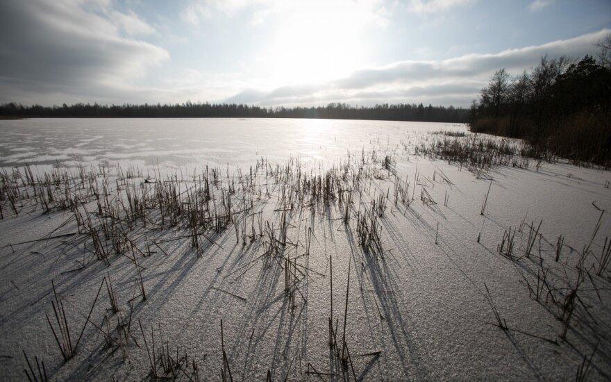 Kraupus radinys Vilniaus rajone esančiame ežere