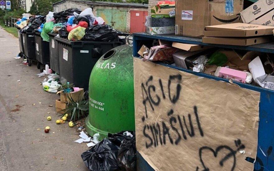 Vilnius linkęs didinti mokesčius už atliekų išvežimą