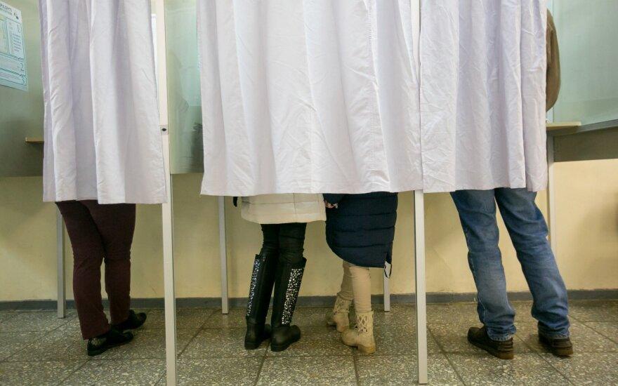 Iki 10 val. ryto balsavo mažiau nei 5 proc. rinkėjų
