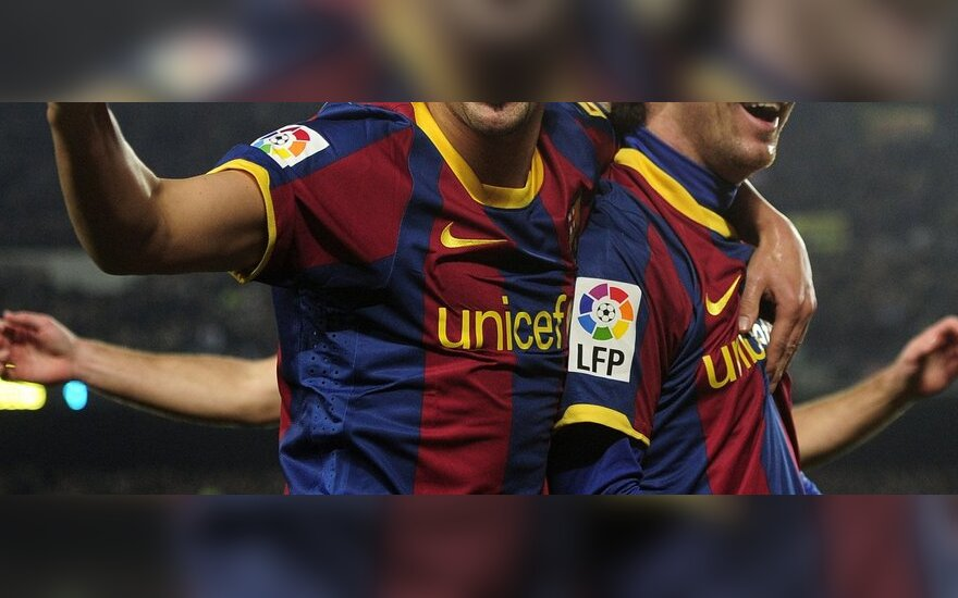 "Davidas Villa ir Lionelis Messi (""Barcelona"")"