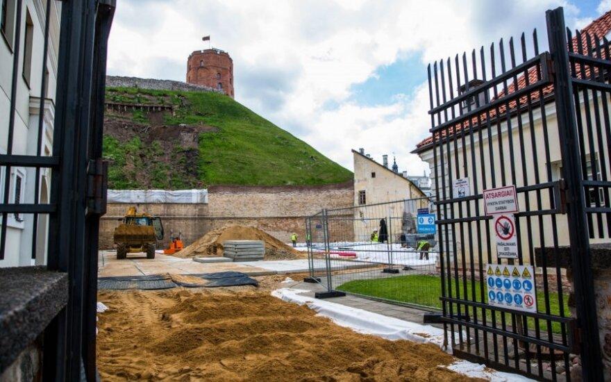 Lankytojams Vilniuje vėl atidaromas Gedimino kalnas