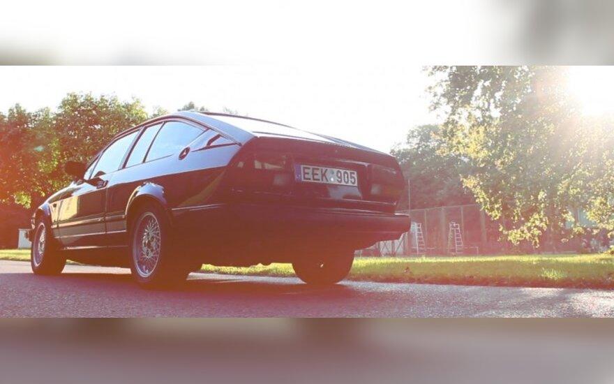 """""""Alfa Romeo GTV6"""" (T.Tunylos nuotr.)"""