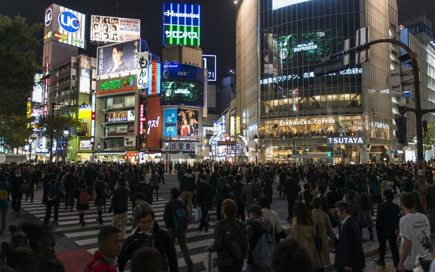 Shibuya district in Tokyo  Photo Ludo Segers