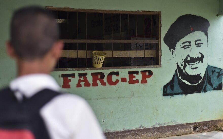 Kolumbijos prezidentas suteikė amnestiją sukilėlių grupuotės FARC nariams