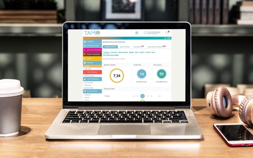 """""""Tavo mokykla"""" įpusėjo 2 mln. eurų investicijų į elektroninį dienyną planą"""