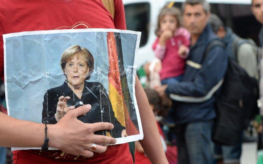 """""""Deutsche Welle"""": A. Merkel – kaip problemos dalis"""