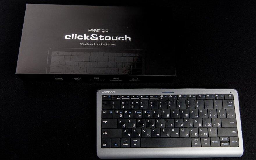 "Intuityvioji klaviatūra ""Click&Touch"""