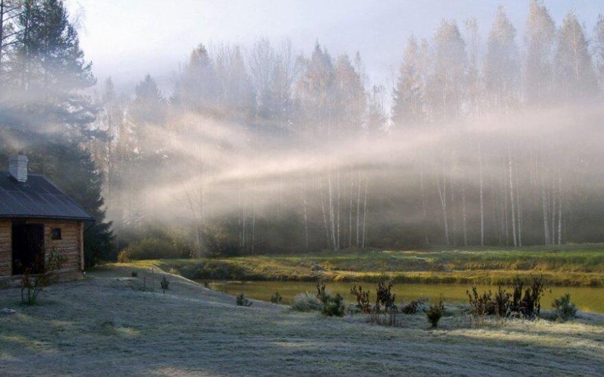 O man Lietuvoje gražiausia: sodyba Labanoro girioje - iš paukščio skrydžio