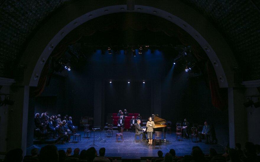 Vilniaus mažajame teatre jautriai paminėtas Fausto Latėno gimtadienis