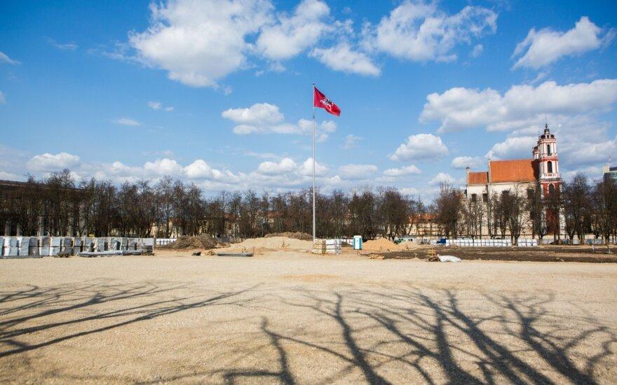 Umbrasas: po 20 metų Lukiškių aikštė gali būti rausiama iš naujo