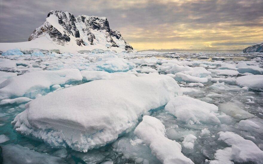 Šaltojo karo pėdsakai šalčiausiame žemyne: Antarktidos ledas alsuoja radiacija