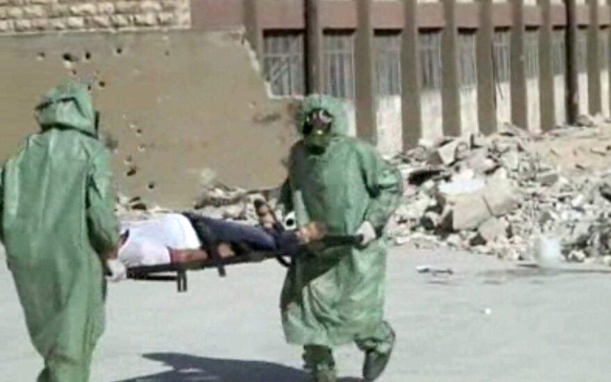 Rusija neigia cheminių atakų Sirijoje išvadas