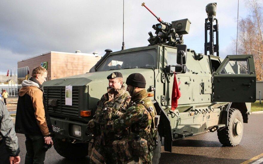 'I found a NATO combat vehicle in my garden' - Ukmergė residents
