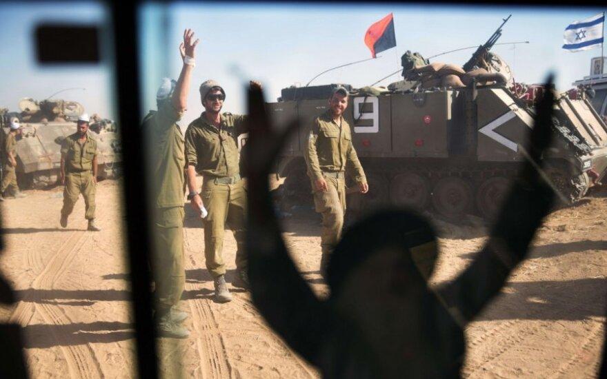 Izraelis: derybose dėl Gazos konflikto – jokios pažangos