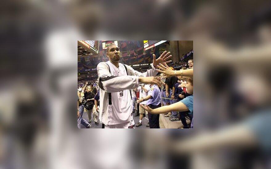 """Tim Duncan, """"Spurs"""""""