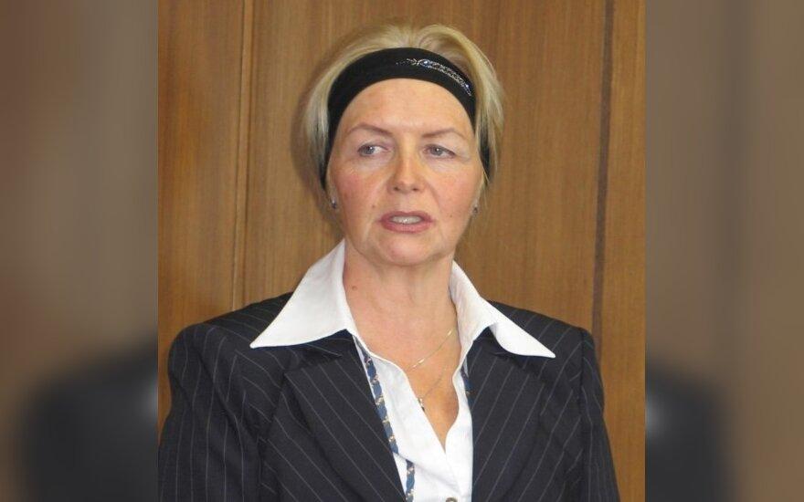 Eksministrienė L.Turčinskienė nusprendė trauktis